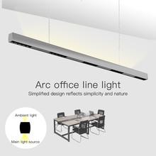 SCON 36W 120cm ליניארי בר אור creative led מלבני קו מנורת משרד מסחרי תאורה מודרני מקורה Ra> 85 תליית מנורה
