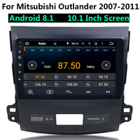 10.1 inch Car MP4 MP5 Video Player Android 8.1 Multimidia 2 Din Radio Bluetooth for Mitsubishi Outlander 2007 2011 46