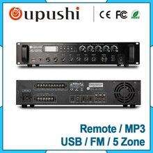 350 W 5 amplificador de potência Profissional de controle de zona com usb sd fm oupushi
