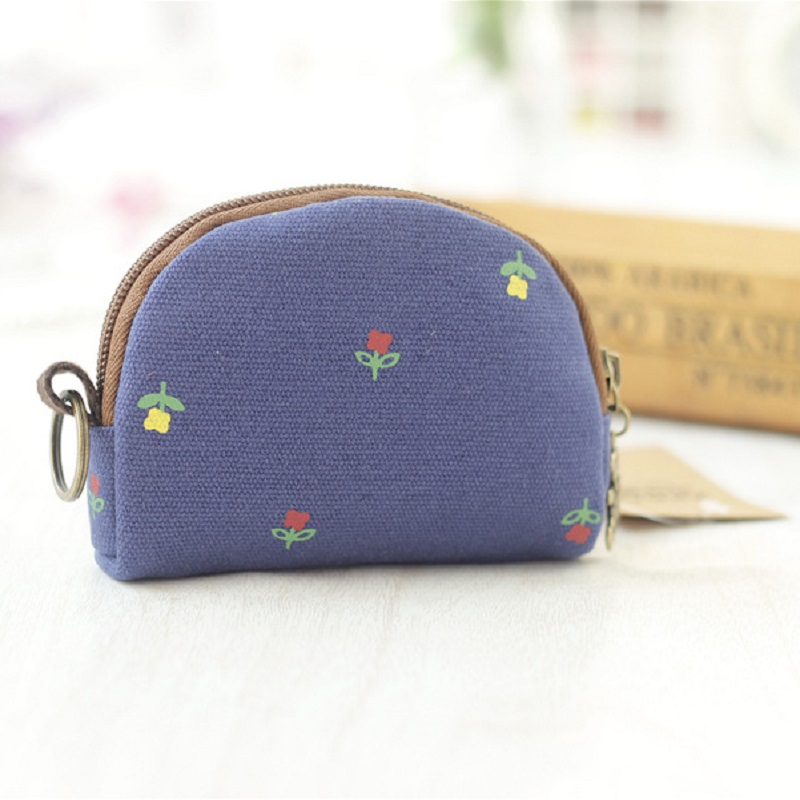 Canvas floral printing coin purses children wallets small pouch kids mini money bags carteiras masculina feminina for girls boys backpack top quality hot sales canvas mini floral women girls kids cheap coin pouch compact elegant mochila 17apr25