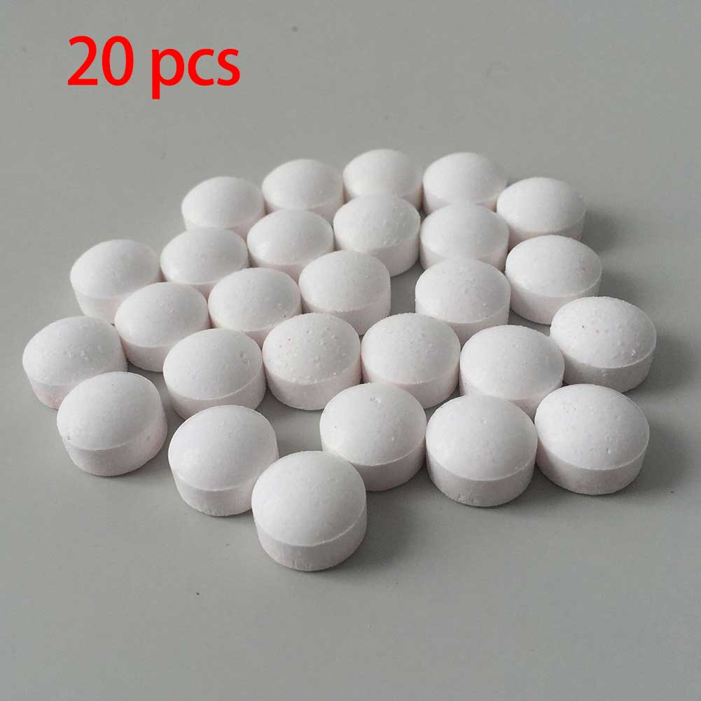 1/10/20pcs Concentrated Cleaner Coffee Machine Cleaning Tablet Effervescent Tablet Descaling Agent Kitchen Accessories
