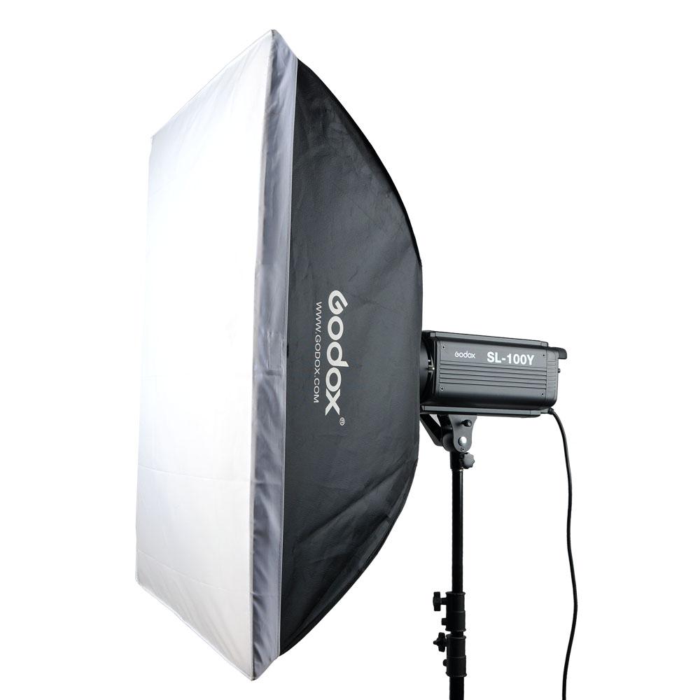 Godox SL-100Y 2400LUX Studio LED Continuous Video Light Yellow Version 3300K Bowens Mount (13)