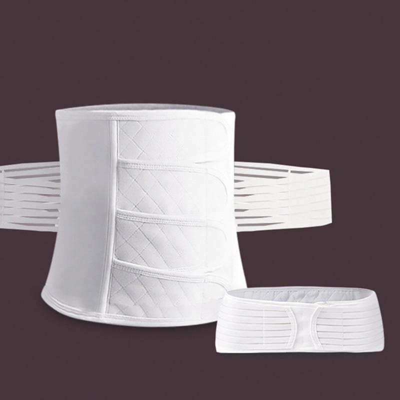 Пояс для беременных, пояс для талии, пояс для живота, послеродовой пояс для живота, пояс для беременных, послеродовой корсет - Цвет: White
