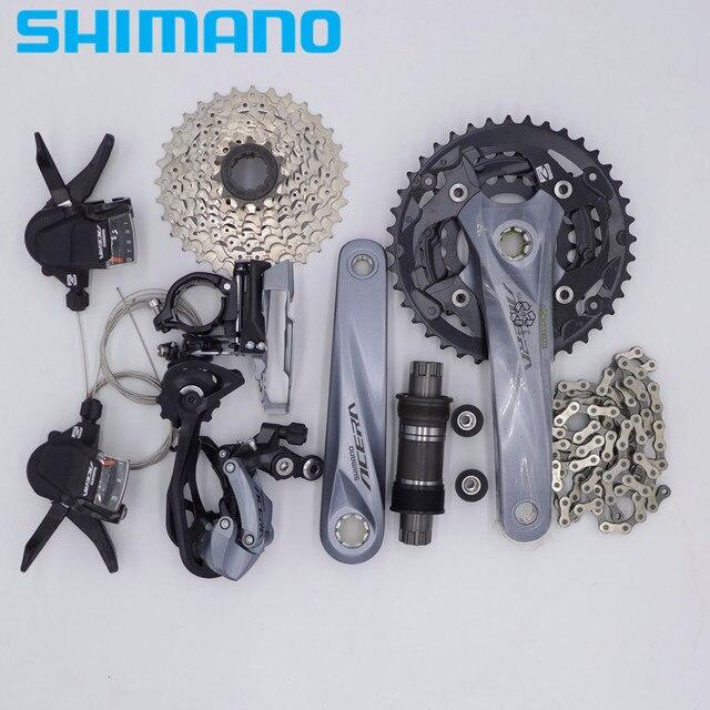 SHIMANO ACERA M3000 27 3*9 скоростной горный велосипед MTB Drivetrain Groupset