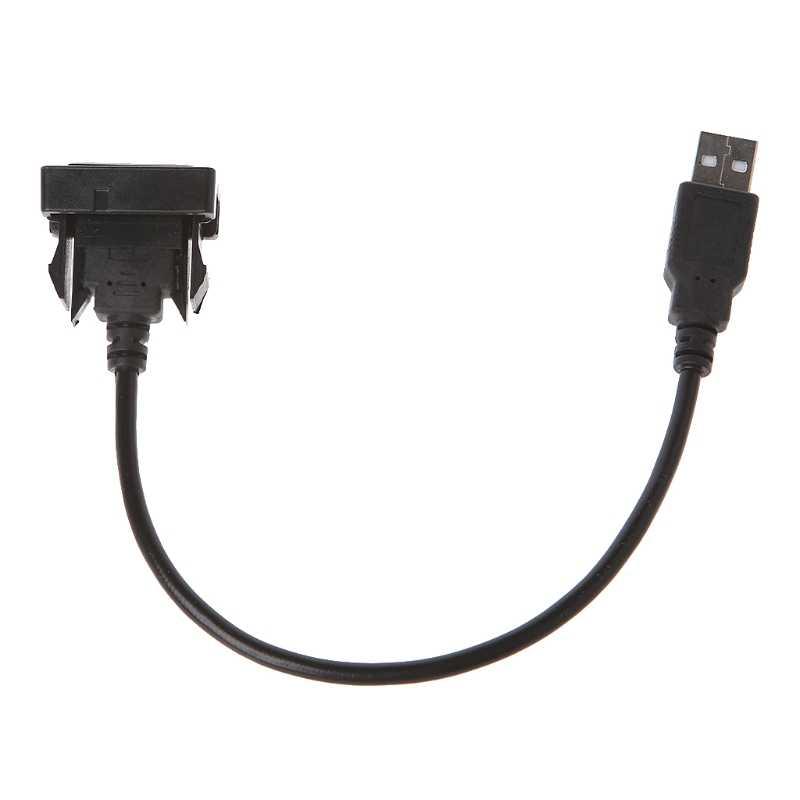 AUX USB ميناء كابل 12-24 فولت سلك الحبل USB محول الشحن لتويوتا فيوس/كورولا