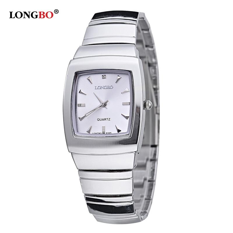 LONGBO Brand Men Women Brief Casual Quartz Crystal Wrist Watches Luxury Brand Quartz Watch Relogio Feminino Montre Femme 9165