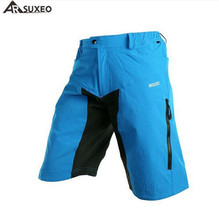 ARSUXEO Mens Summer Cycling Shorts Off-road Downhill MTB Mountain Bike Bicycle Ridding Clothing Outdoor Sportswear