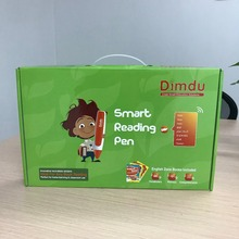 Smart  Reading-Talking Pen with 10 English Book Series and 800 Recordable Stickers.