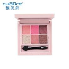 CHIOTURE 6 Colors Shimmer Matte Eyeshadow Pallete Professional Eye Shadow Makeup Make Up Palette Maquillage Paleta De Sombra
