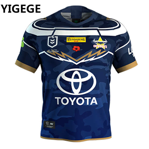 5be4e4bdea6 Detail Feedback Questions about YIGEGE nrl Jersey 2019 North Queensland  Cowboys rugby Jerseys Defence Jersey NRL National Rugby League shirt s 3xl  on ...