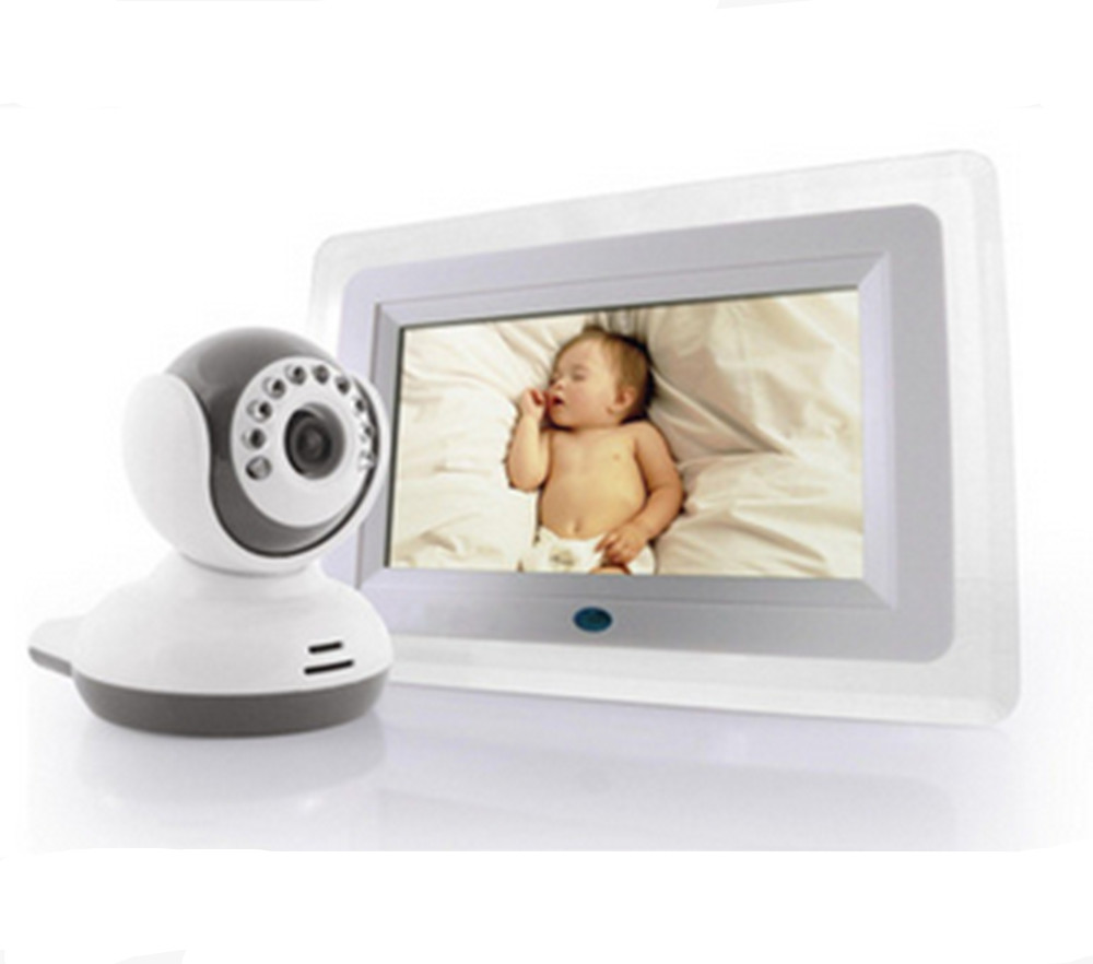 7 Inch Screen Wireless 2.4Ghz Baby Monitor