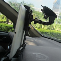 Tablet Holder Mount On The Windhield Dashboard
