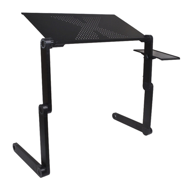 Brand New High Quality Portable Adjustable Foldable Laptop Notebook PC Desk Table Vented Stand Bed Tray