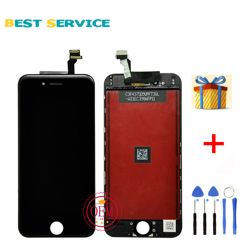 Grade AAA No Dead Pixel For iPhone 6 LCD Display with Touch Screen Digitizer Assembly 4