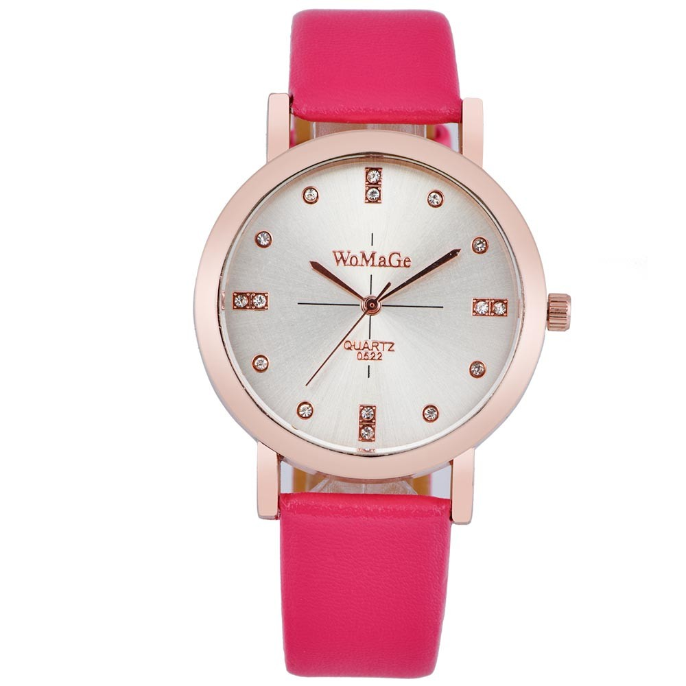 2016 Hot Women Watch Cute Panda Relojes Mujer Leather *