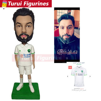 Arab  character figurines design top collection real people face scuplture statue   desktop toy home decoration decor