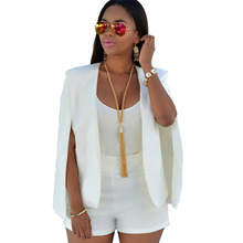 Blazer Autumn Business Suit Irregular Lapel Cool Ladies Faba
