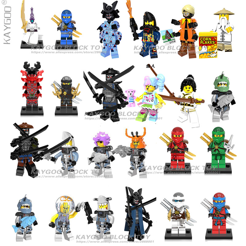 Toy Lot of 12 Assorted Ninja Action Figure Toys US Toy 4431 U.S