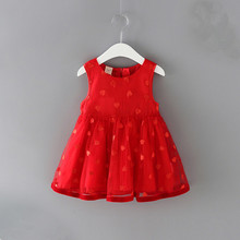 Baby Dress New Lace Birthday Kids Christening Ball Gown