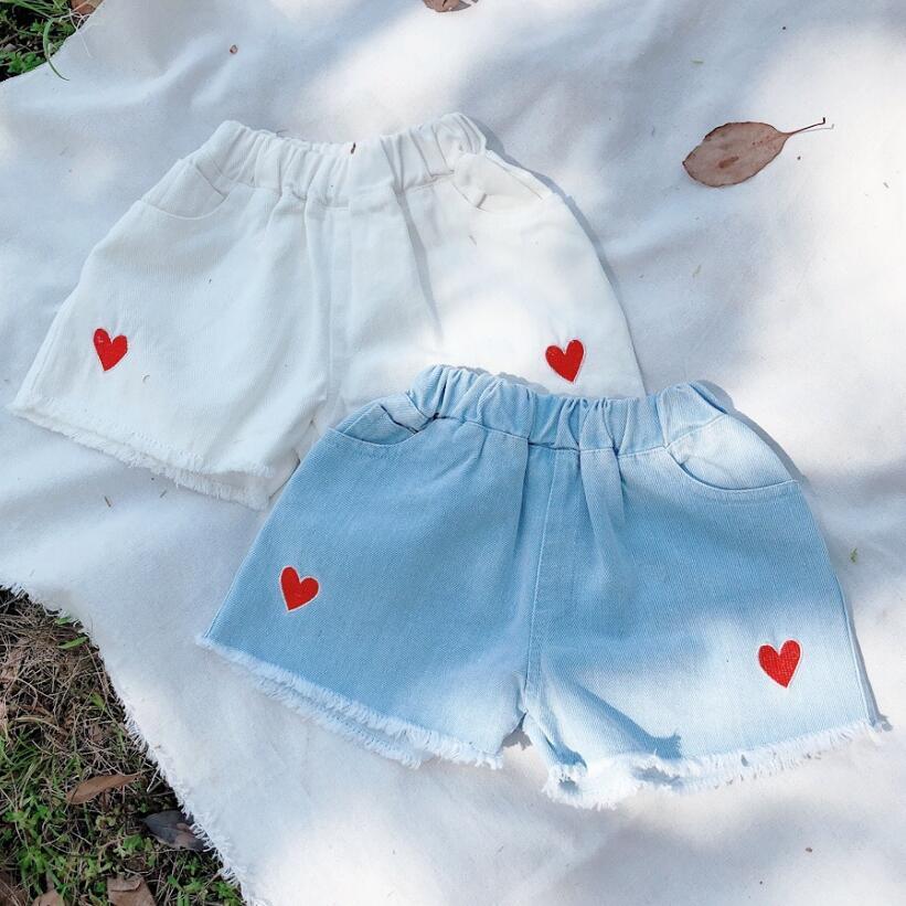 2019 Baby Kleinkind Shorts Kinder Jeans Mädchen Sommer Kurze Denim Hosen Mädchen Shorts Kinder Hosen Kleidung Böden Jw7432 HeißEr Verkauf 50-70% Rabatt Mädchen Kleidung
