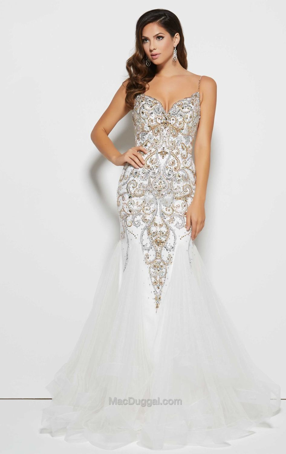 white sequin prom dress page 2 - prom