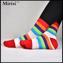 1 Pair Colourful Women Cotton Funny Socks Cute British Style Casual Harajuku Brand Fashion Novelty Art For Couple