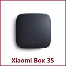 Nouveau Xiaomi Mi Boîte 3 S Lecteur Android TV 6.0 Quad Core 64Bit Set-top Box soutien 4 K Vedio DTS et Dolby MDZ-19-AA