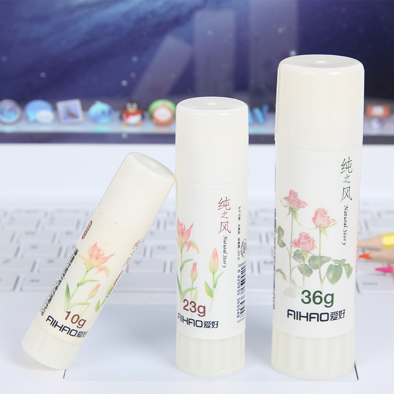 Kawaii Mini Solid Glue Cute 10g Glue Stick For Home Decoration Photo Album Kids Gift Korean Stationery Office School Supplies