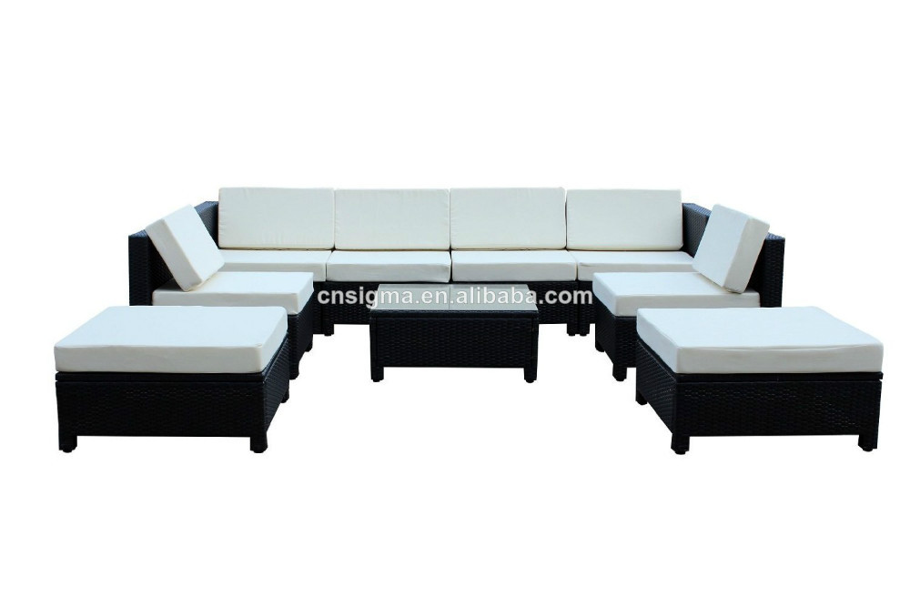 9 Pcs Luxury Wicker Patio Sectional Indoor Outdoor Sofa Furniture Set In Garden Sofas From On Aliexpress Alibaba Group