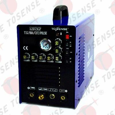 Многофункциональный сварочный аппарат TIG CUT MMA импульса 110 В 220 В как 200A 50A переносной Бесплатная доставка