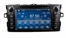 HD 2 din 7″ Car Radio DVD Player for Toyota Corolla 2012 With GPS Navigation Bluetooth IPOD TV USB SWC AUX IN