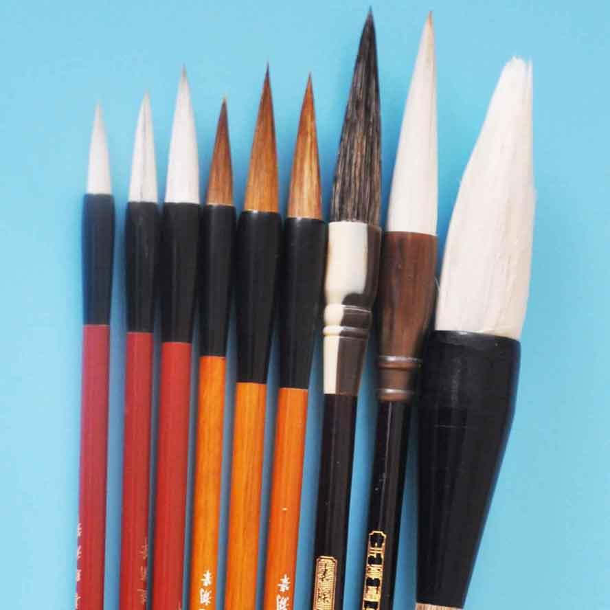 calligraphy brush set