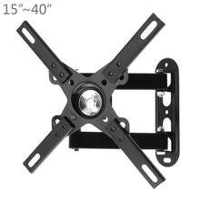 Universal Adjustable 15Kg Penuh Mount Cantilever Mount Fungsional Liquid Crystal TV untuk 15-40 Inch LED/LCD TV(China)