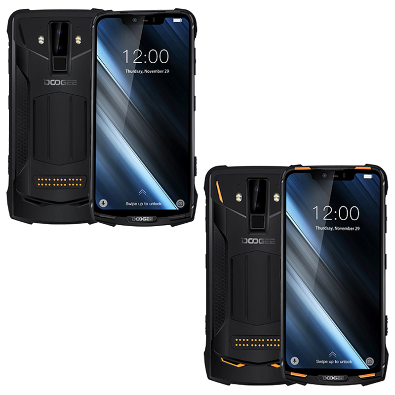 Image 5 - Original IP68/IP69K DOOGEE S90 super Waterproof shockproof 5050mAh 6.18'' MT6671 Helio P60 6GB 128GB Smartphone 16MP Camera-in Cellphones from Cellphones & Telecommunications
