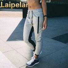 Laipelar 2018 Spring Fashion Casual Femme Hip Hop Dance Pants Elastic Waist Trousers Female Sweatpants
