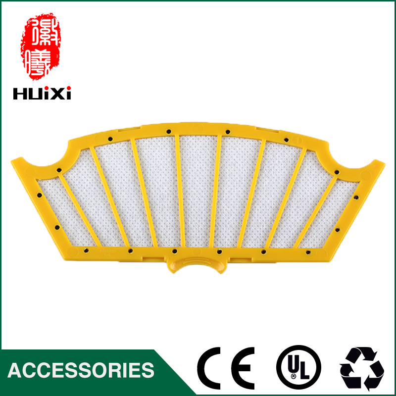 140*55mm Yellow HEPA Filter Screen Repalcement Cleaner Filter for 500 510 527 535 550 552 560 Vacuum Cleaner Parts to Clean Home pall filter element repalcement hc9800 39h