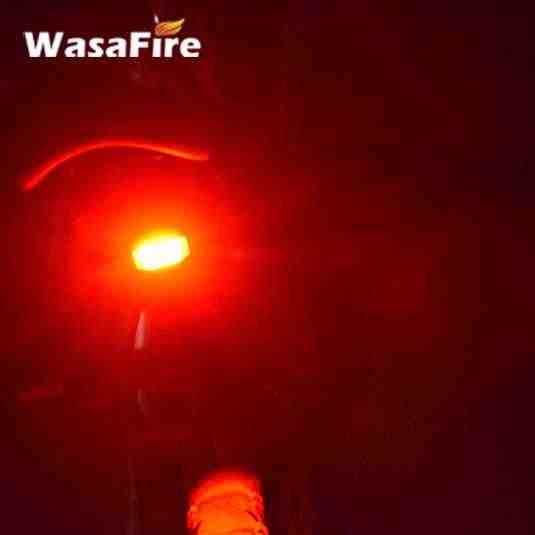 Васавайр 3 режима велосипедный задний фонарь Беспроводной интеллектуальный светодиодный отражатель с датчиком USB Перезаряжаемый велосипед свет Противоугонная сигнализация