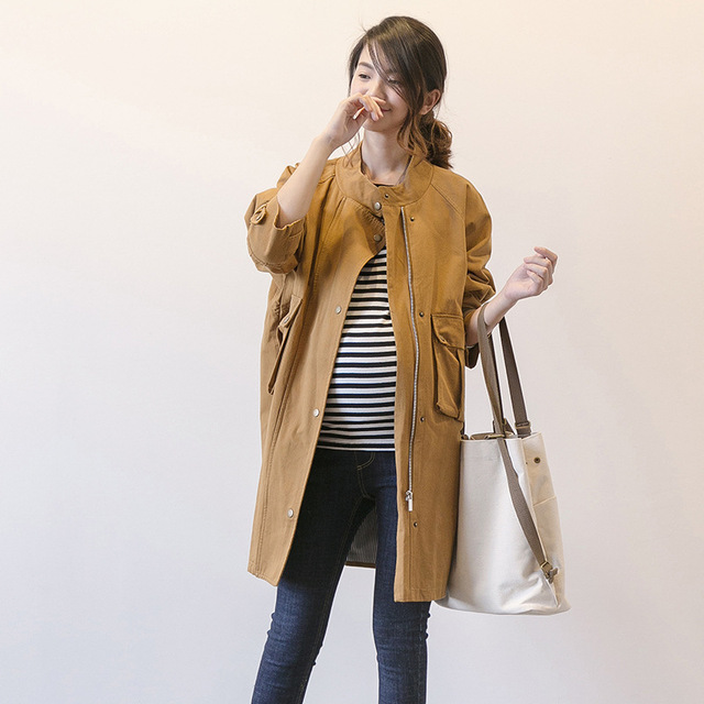 Spring Autumn Maternity Coat Jacket Pregnancy Coats Jackets for Maternity Women Outerwear Pregnant clothing Y753