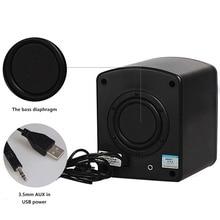 SADA D-200B Mini Portable Desktop Computer Speaker with Subwoofer 2.1 Gaming and Multimedia PC speakers