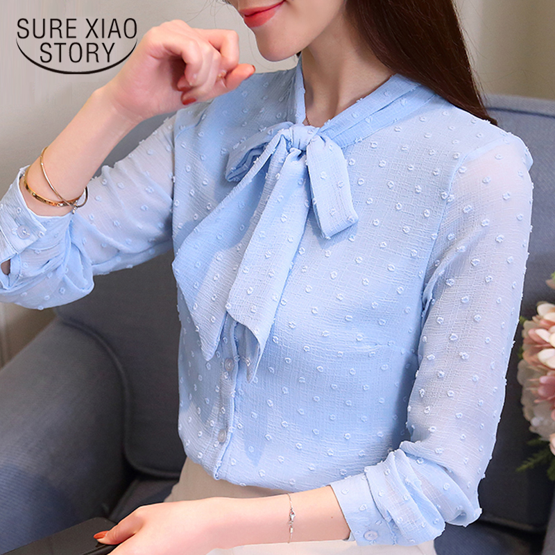 fashion woman   blouses   2019 spring women   blouse     shirt   long sleeve women   shirts   office work wear womens tops and   blouses   1146 50