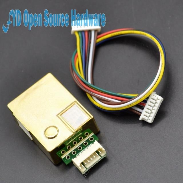1 stks MH-Z19 NDIR CO2 Sensor Module infrarood co2 sensor 0-5000ppm
