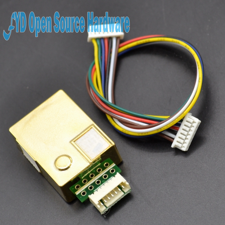 1 unids MH-Z19 NDIR CO2 Módulo de Sensor de infrarrojos co2 sensor 0-5000ppm
