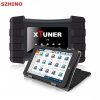 V8 5 XTUNER T1 Wifi OBD 2 HD Heavy Duty Truck Diagnostic Tool WIN10 OS Tablet