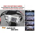 Car Intelligent Parking Tracks Camera / For Audi A3 S3 2004 ~ 2014 HD CCD Back up Reverse Camera / Rear View Camera
