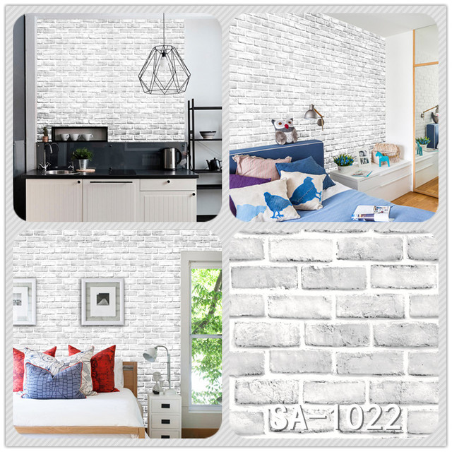 Home Decor 3D PVC Wood Grain Wall Stickers 10