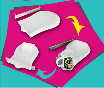 Universel en caoutchouc de silicone d'impression de transfert sac pour 3d machine à vide pour coque de téléphone sublimation, tasse, de l'impression de bouteille