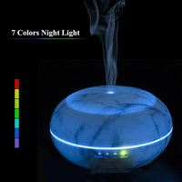 14W 300ML Ultrasonic Aromatherapy Humidifier With LED Light Wood Grain Essential Oil Aroma Diffuser For Home