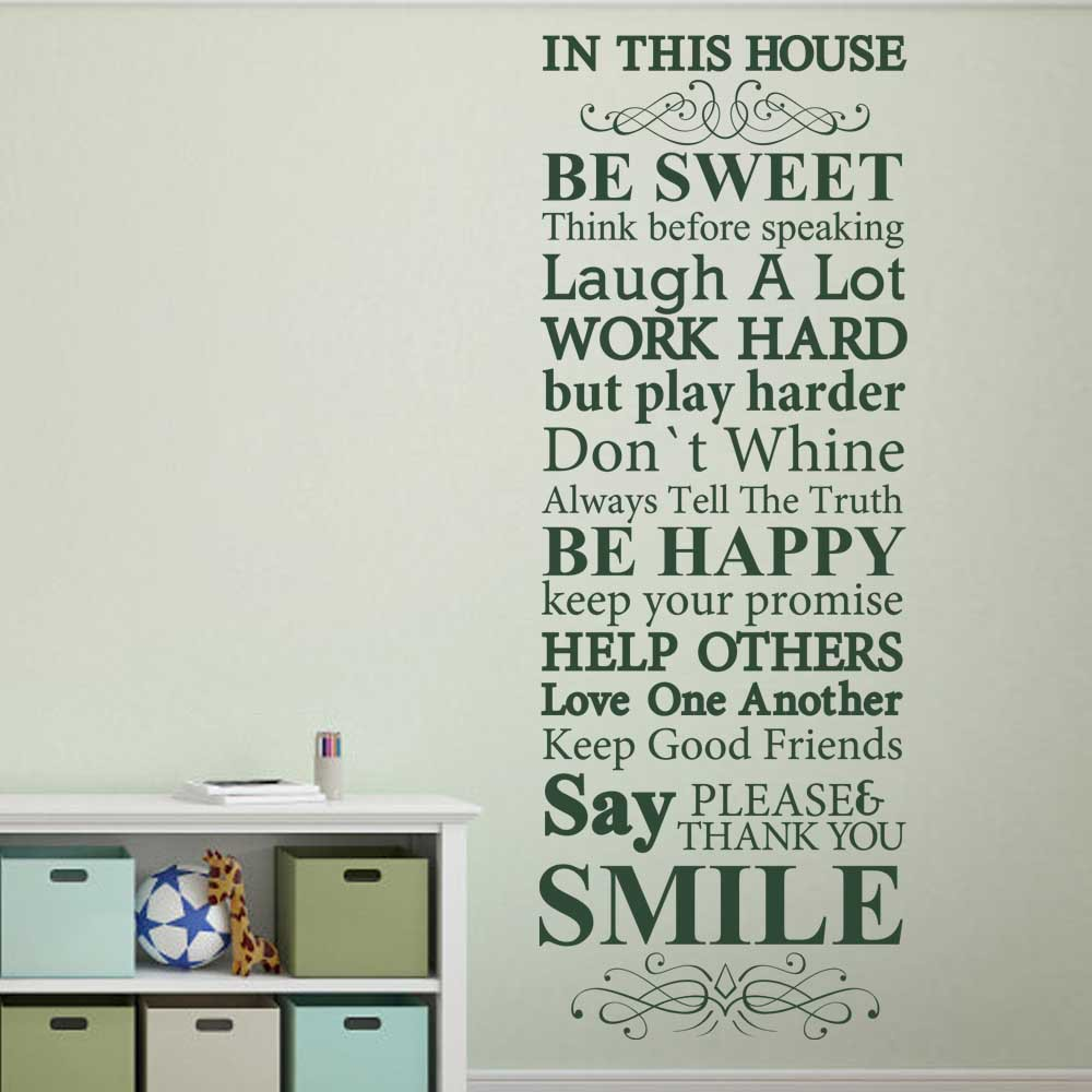 In this house we do family rules house rules vinyl wall decal in this house we do family rules house rules vinyl wall decal sticker 61 x 22 l in wall stickers from home garden on aliexpress alibaba group amipublicfo Choice Image