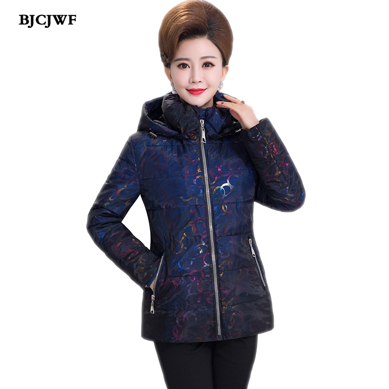 New 2018 Plus Size 5XL Down Coat Women Winter Hooded Warm Coat TOP Quality white duck down Jacket Female Parka Womens Outerwear
