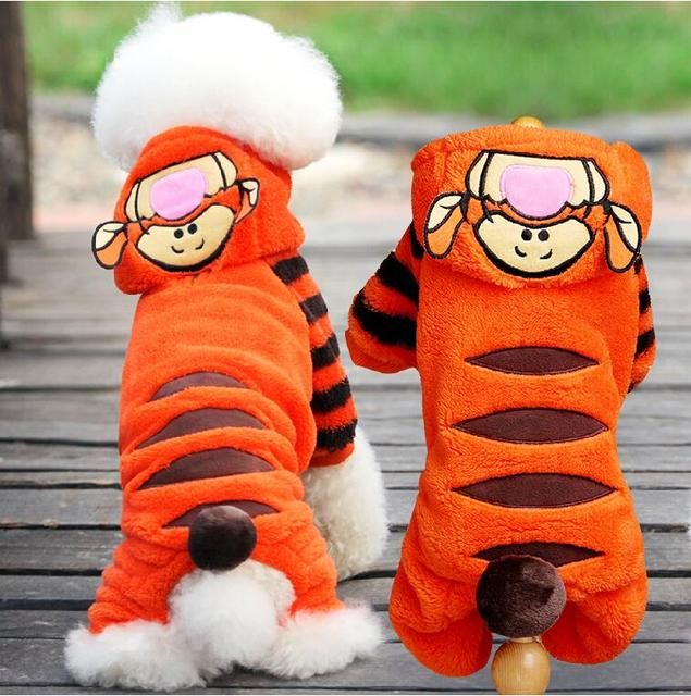 Halloween Dog Costume Soft Fleece